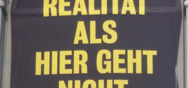 Plakat des Berliner Ensembles, Berlin 2018